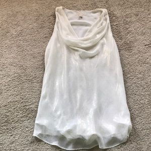 Michael Kors draped front tank
